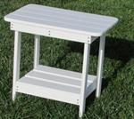 Accent Table, White  14x22