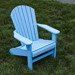 Adirondack Chair, Poly, Baby Blue