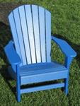 Adirondack Chair, Poly, Blue