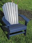 Adirondack Chair, Poly, Patriot Blue