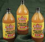 Braggs Organic Apple Cider Vinegar 32oz.