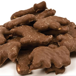 Chocolate Coated Animal Crackers