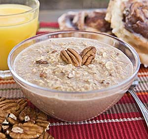 Cinnamon And Pecan Instant Oatmeal