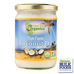 Coconut Oil Virgin Organic 16oz