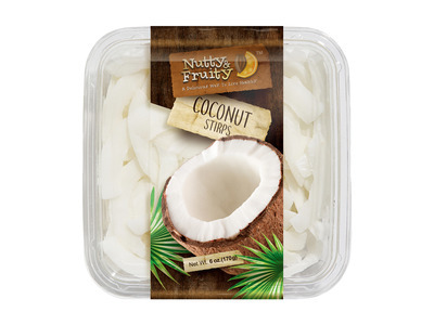 Dried Coconut Strips 6oz 1