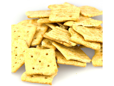 Garden  Vegetable Crackers