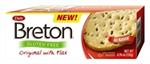 Gluten Free Crackers with Flax 4.76oz Breton