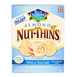 Hint of Sea Salt Nut Thins 4.25oz