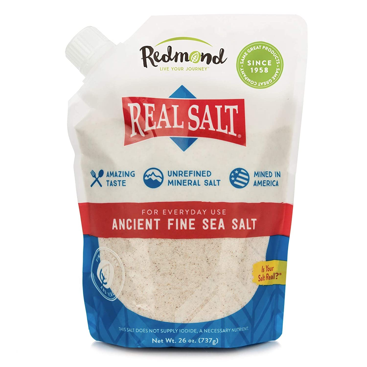 Real Salt 26 oz. pouch