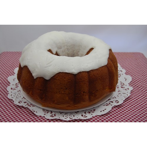 Whole Glazed Lemon Sponge Cake